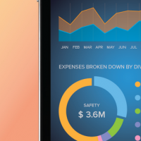 Data visualization inspirations for mobile and app 10