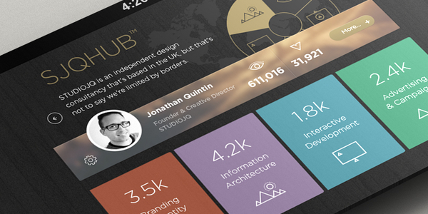 Data visualization inspirations for mobile and app 3