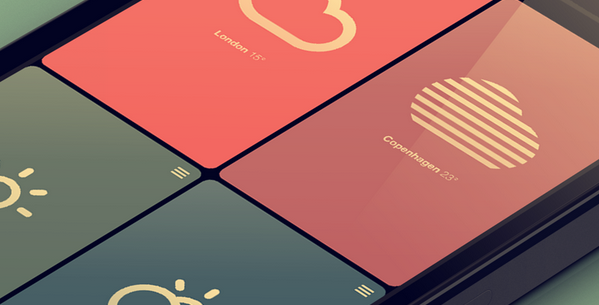 Data visualization inspirations for mobile and app 7
