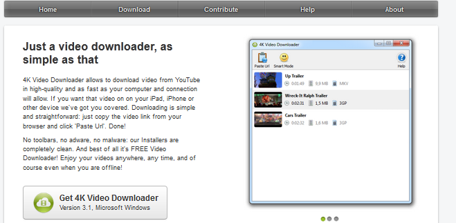 4K video downloader review