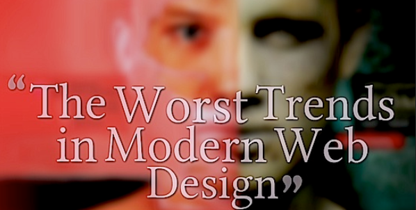 annoying web design trends for 2014