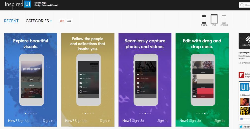 user interface design inspiration 9