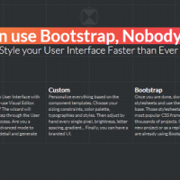 Best way to customize bootstrap 1