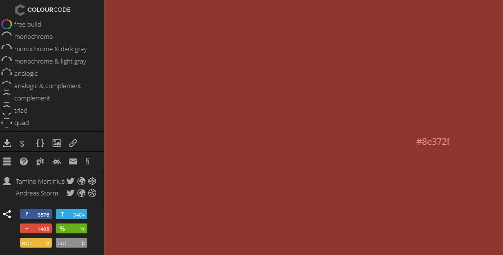 color palette generator for 2014 3