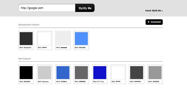 color palette generator for 2014 5