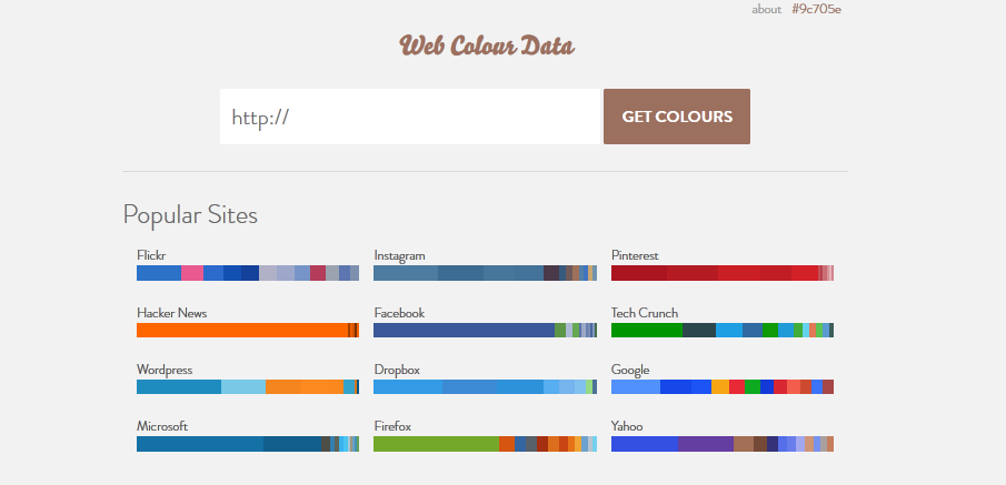 color palette generator for 2014 6