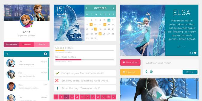 free UI kits 2014 4