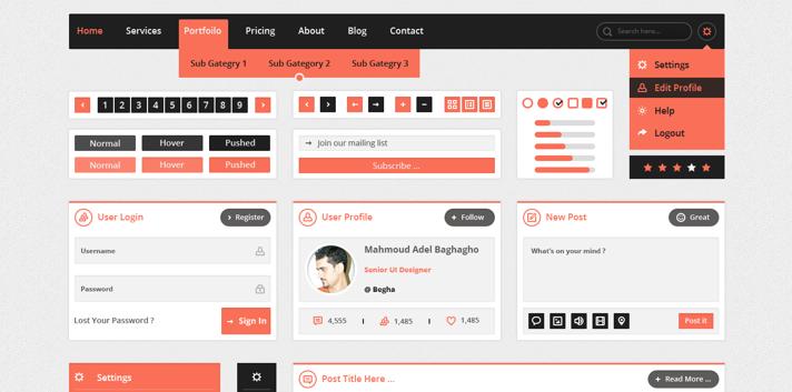 free UI kits 2014 8