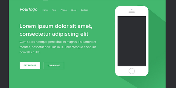 free landing page templates for 2014-7
