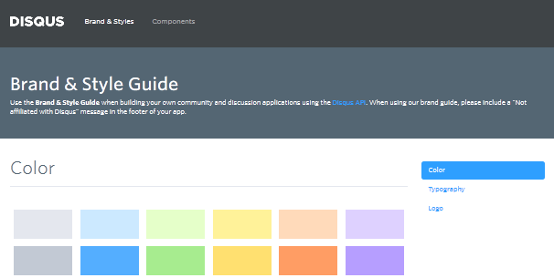 style guides of websites 2