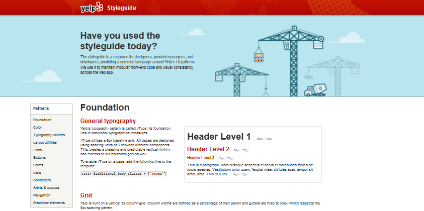 style guides of websites 3