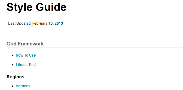style guides of websites 8