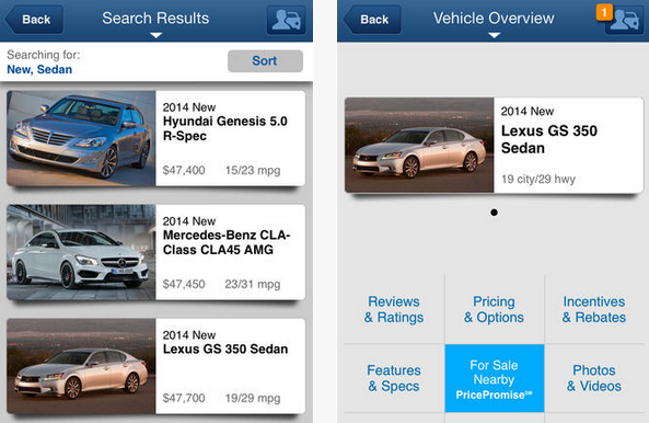 app for buying and selling cars 4