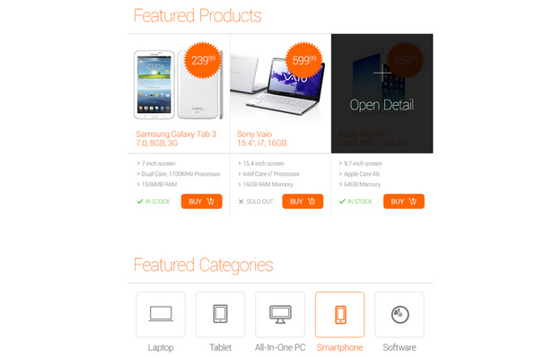 free psd ecommerce templates for 2014 2