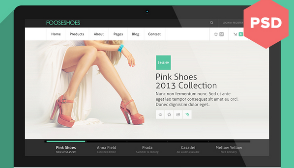 free psd ecommerce templates for 2014 3