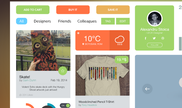 free ui kit psd march 2014 12