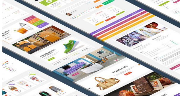 free ui kit psd march 2014 2