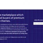 Buy and sell responsive templates on Gridgum