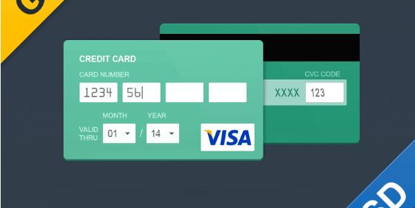 payment form psd 3