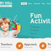wordpress theme for kindergarten and preschool 1
