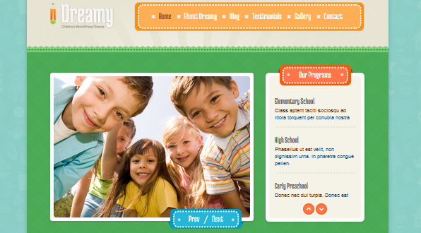 wordpress theme for kindergarten and preschool 4