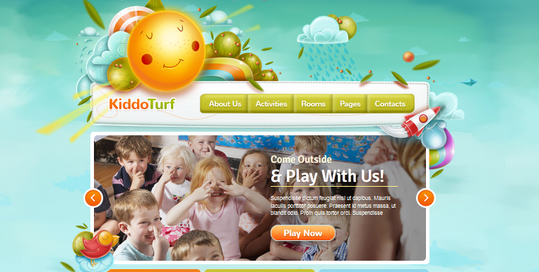 wordpress theme for kindergarten and preschool 5