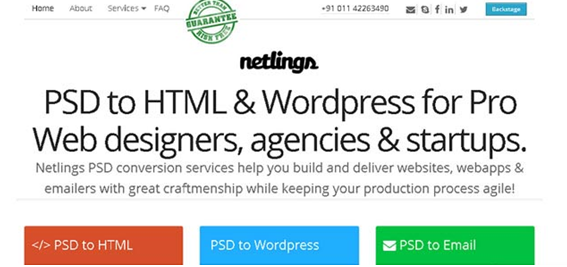 psd To html conversion services  13