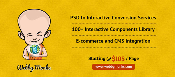 psd To html conversion services  5