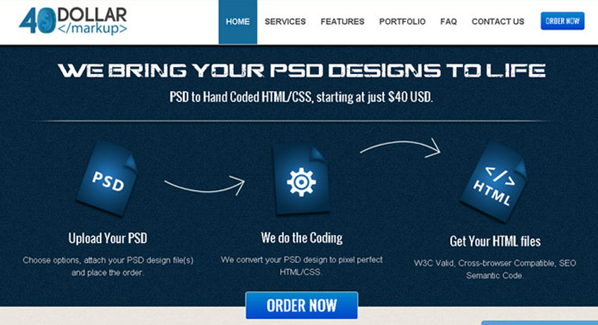 psd To html conversion services  6
