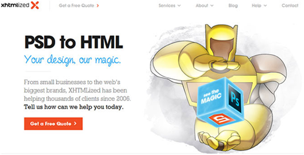 psd To html conversion services  7