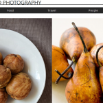 wix templates for food photography