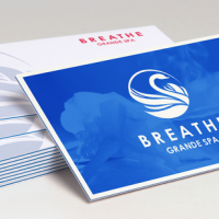 triple thick business card design 1