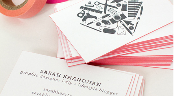 triple thick business card design 2