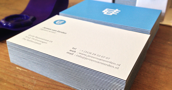 triple thick business card design 8