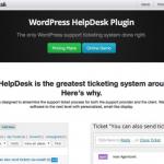 WPHelpDesk plug in for WordPress