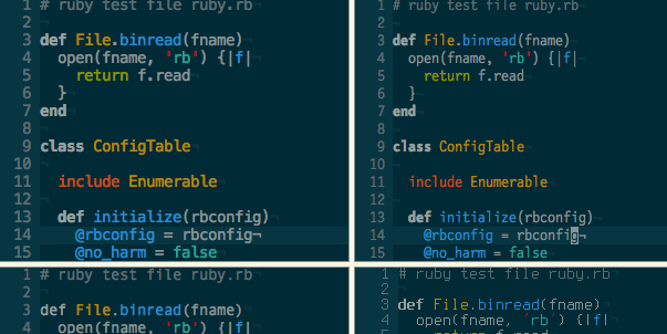 Best sublime text 2 and 3 theme for 2014 2