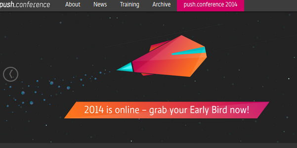 best conferences for designers - push conference