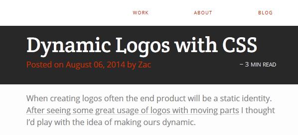 dynamic logo CSS