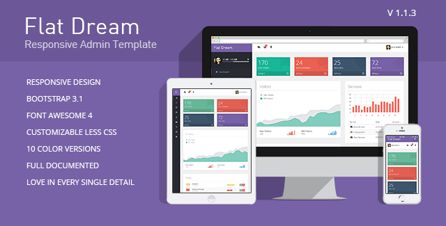flat-dream-responsive-admin-template