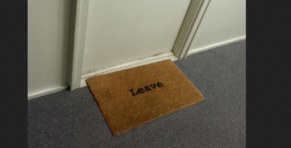 unwelcome mats