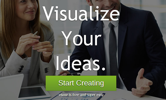 Visme-Visualize-Ideas