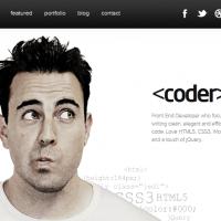 website portfolio for developer 1