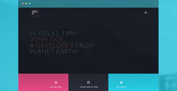 website portfolio for developer 5