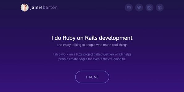 website portfolio for developer 7