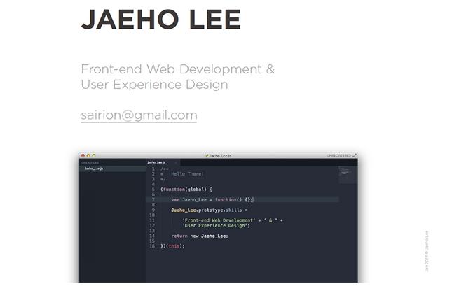 website portfolio for developer 8