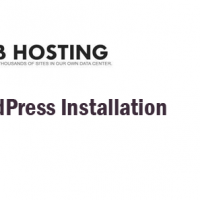 How to install WordPress in shared web hosting
