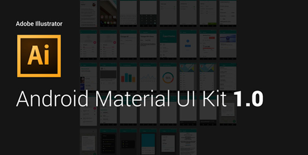 material design UI kit for android 3