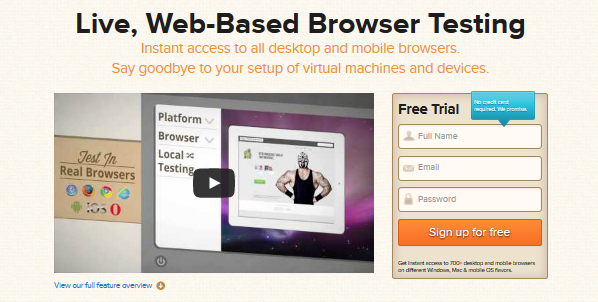 cross browser testing tool 2
