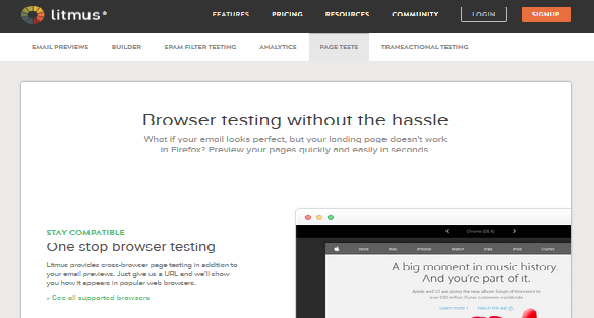 cross browser testing tool 8