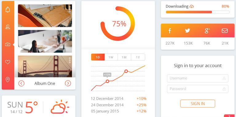 free ui kit psd for 2015 5